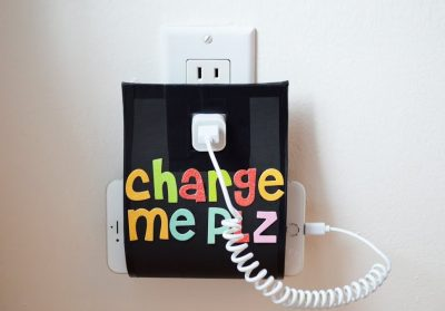 Phone Charging Holder Tutorial