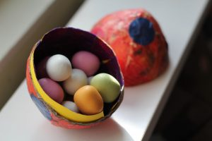 How To Make Papier Mache Easter Eggs