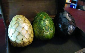 Paper Mache Dragon Eggs