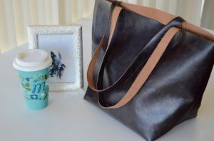 DIY Tote Bag Flat Bottom