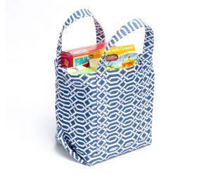 Flat Bottom Tote Bag
