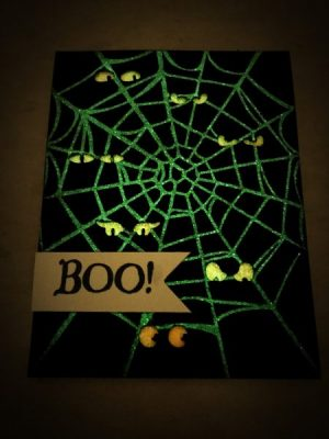 Glow in Dark Halloween Card