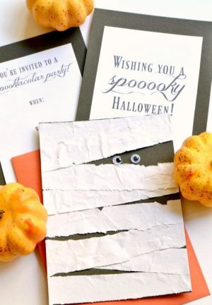 Halloween Greeting Card Ideas