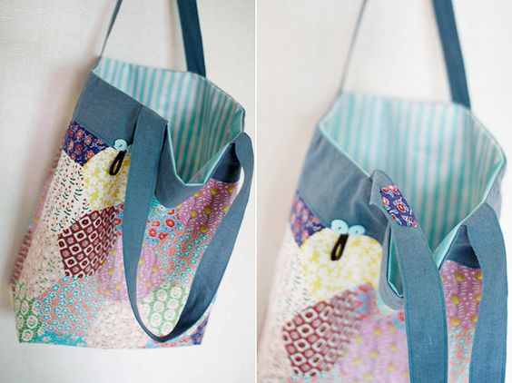 DIY tote bag patterns