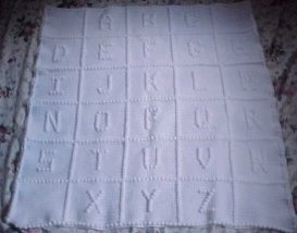 How to Crochet Letters in a Blanket