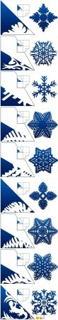 How to Cut Out Snowflakes