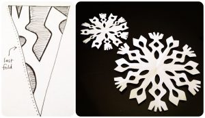 Paper Snowflake Cutout Images