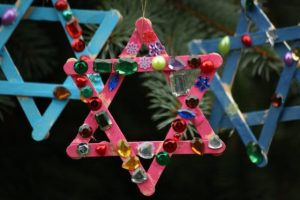 Popsicle Star Ornaments