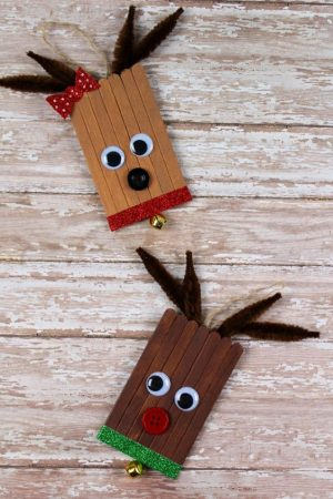 Popsicle Stick Reindeer Instructions