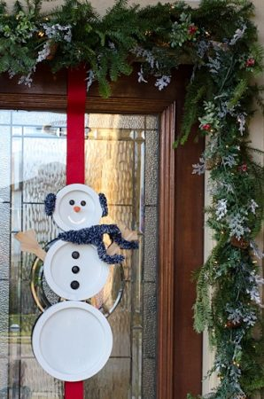 Snowman Wreath Ideas