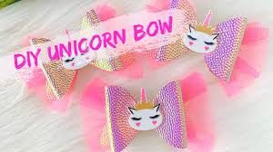 DIY Unicorn Bow