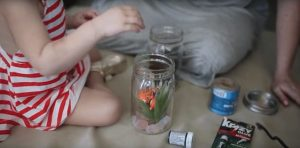 Fake Mason Jar Fish Tank