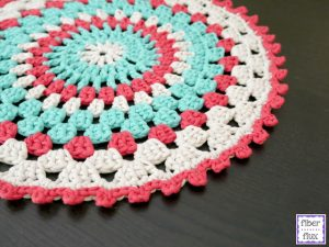 Crochet Pattern for Placemat