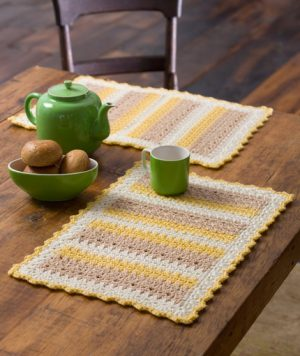 Crochet Table Mat Pattern