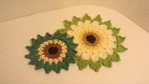 Crochet a Sunflower Placemat