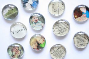DIY Glass Magnets