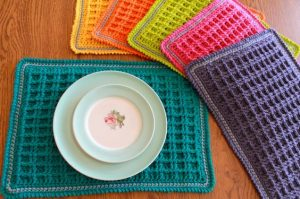 Free Pattern Crochet Placemat