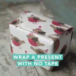 Gift Wrap without Tape