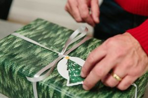 How to Wrap a Christmas Present Without Tape