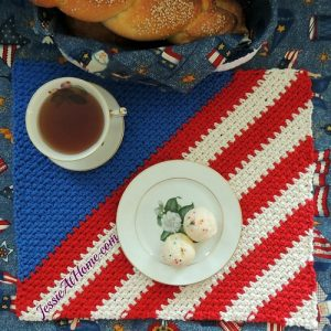 Patriotic Placemat Crochet