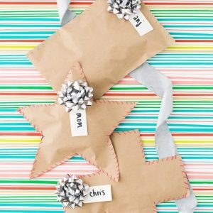 Tape Free Gift Wrapping Tutorial