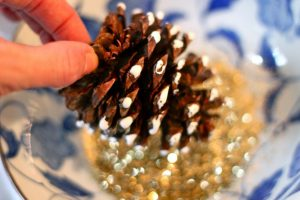 Scented Pine Cones For You to Make