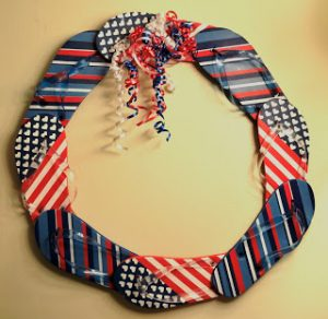 Flip Flop Patriotic Wreath