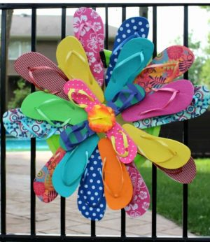 Flip Flop Wreath Directions