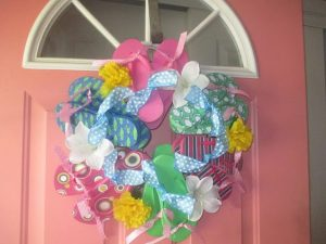 Flip Flop Wreath Ideas