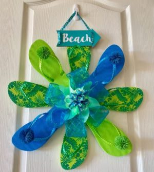 Flip Flop Wreath Project