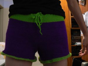 Crochet Shapely Shorts