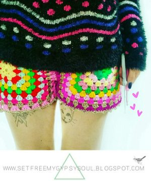 Crochet Shorts Pattern Free