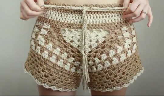 Free Crochet Shorts Pattern