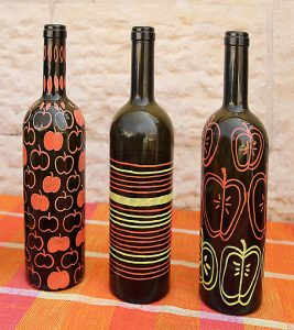 How To Paint Glass Bottles