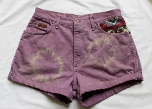 How To Tie Dye Shorts