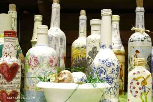 Painting Wine Bottles Ideas